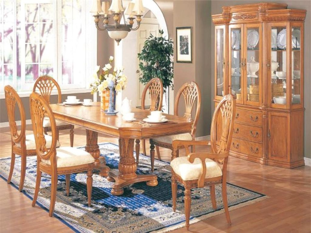 Charming Dining Room Sets Buffet Hutch Dining Room Set With Hutch