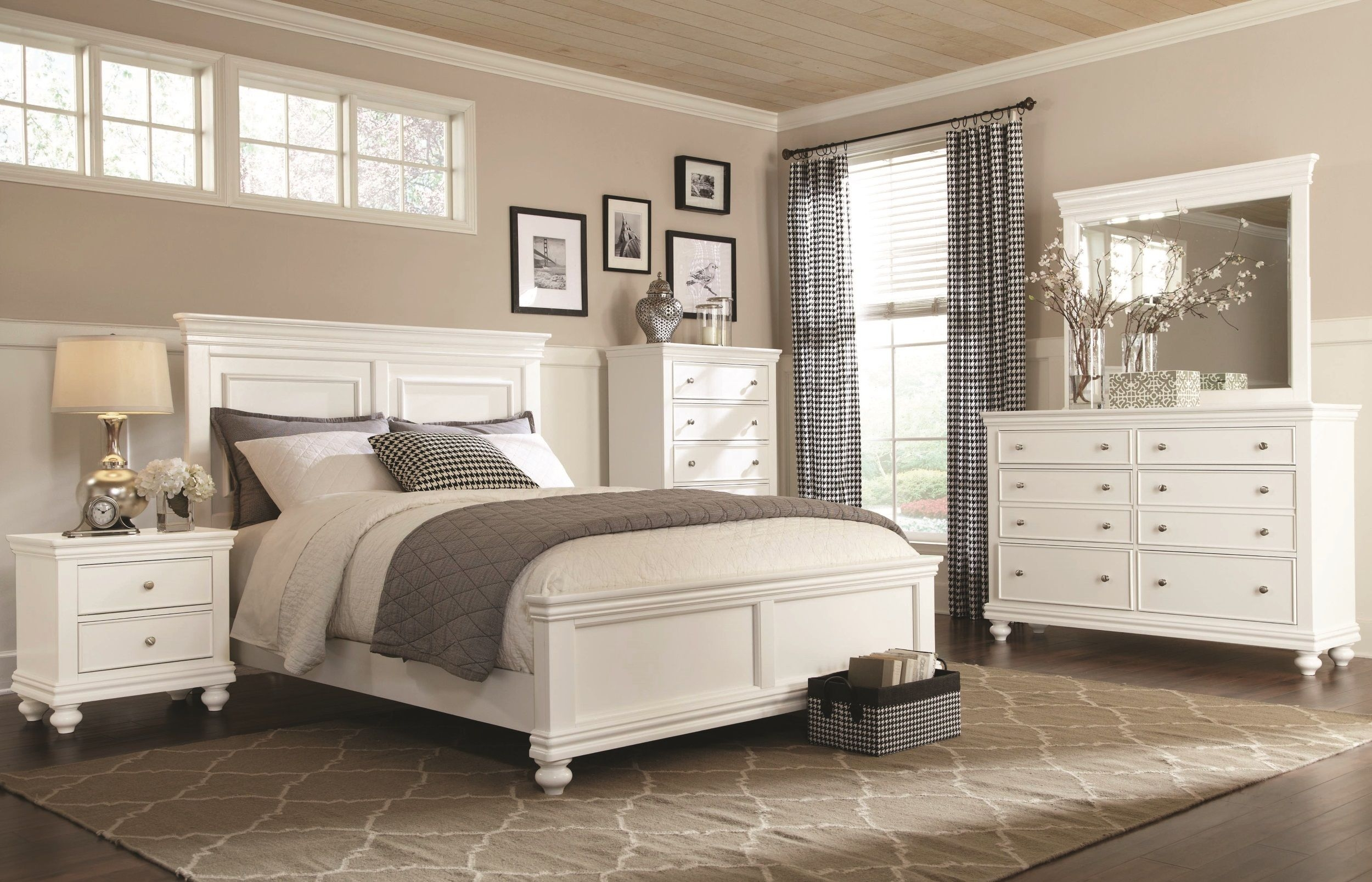 Clearance White 4 Piece Queen Bedroom Set Essex In 2018 Bedroom