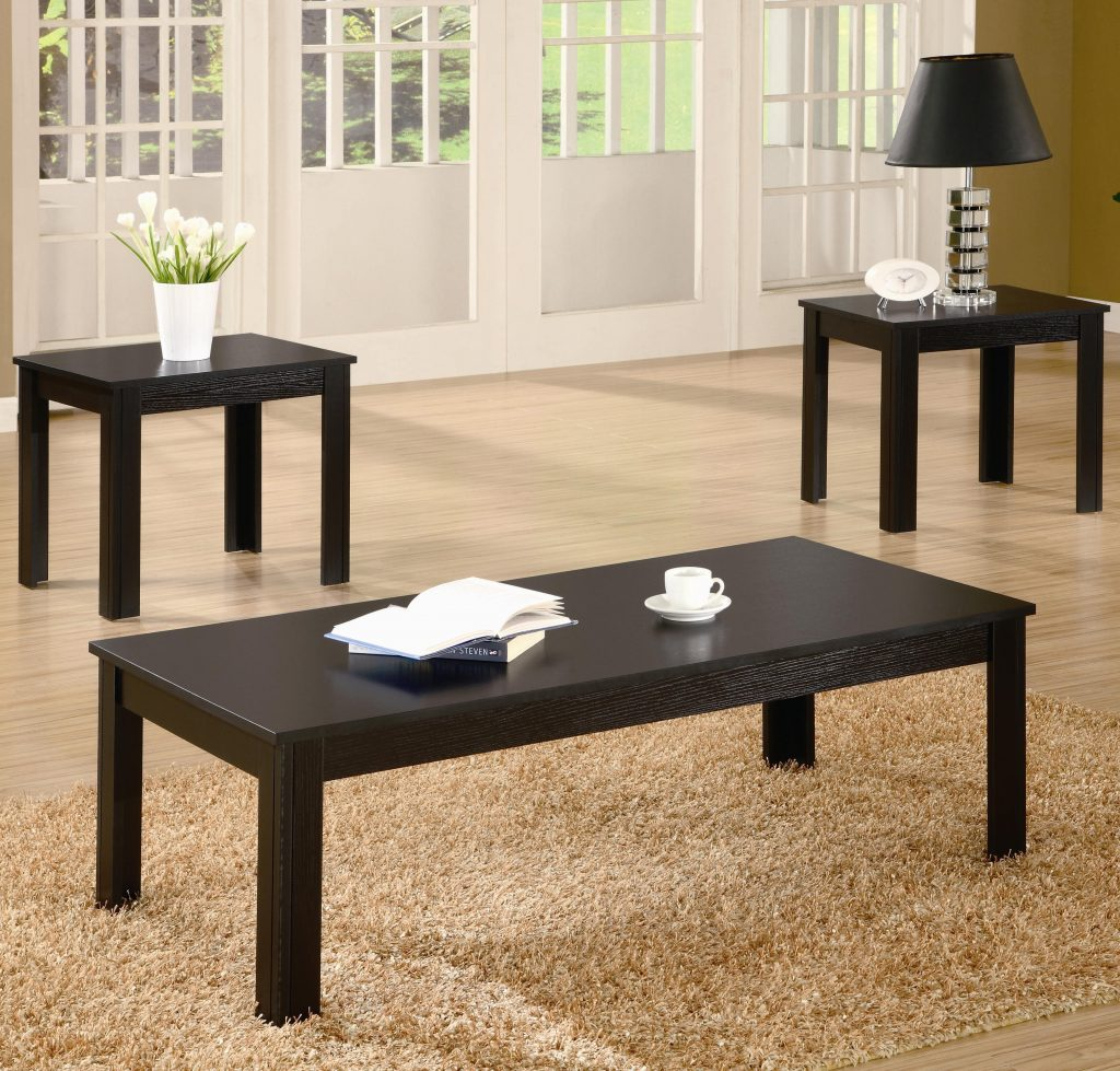 Coaster Occasional Table Sets 700225 3 Piece Table Set Northeast