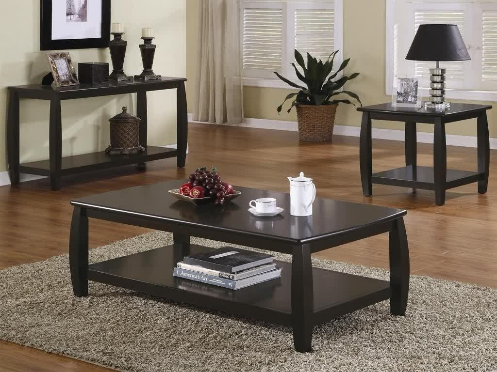 Coffee And End Table Sets Black Thelightlaughed