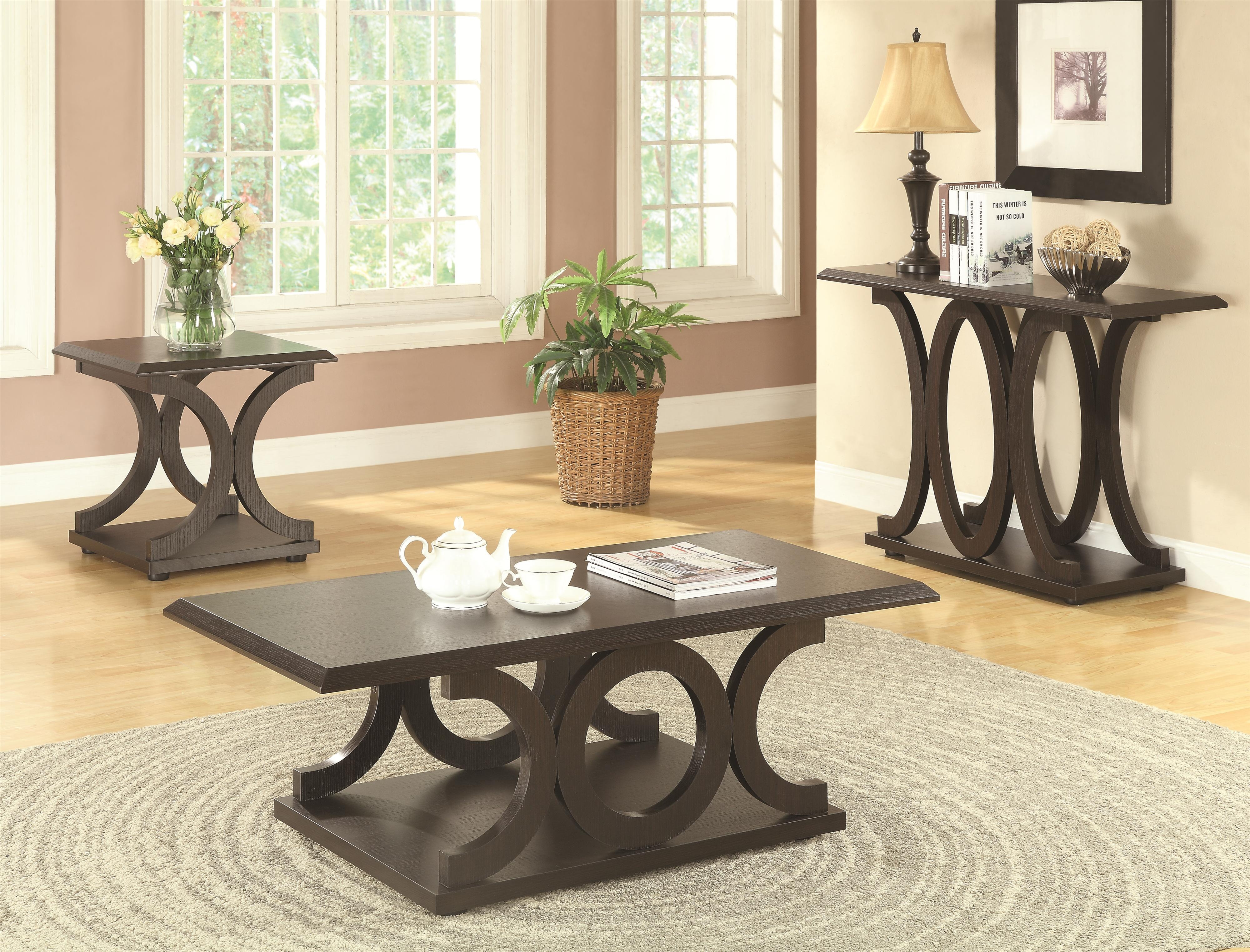 Coffee Tables C Shaped Coffee Table Co 703148