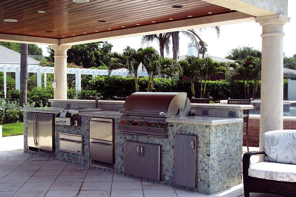 Contemporary Outdoor Kitchen Grills Tedxoakville Home Blog Ideas
