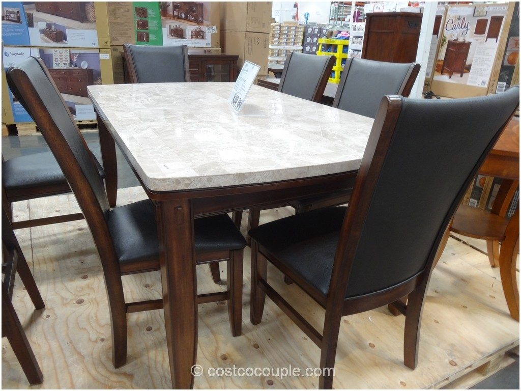Costco Kitchen Tables And Chairs Costco Dining Table In Store Room