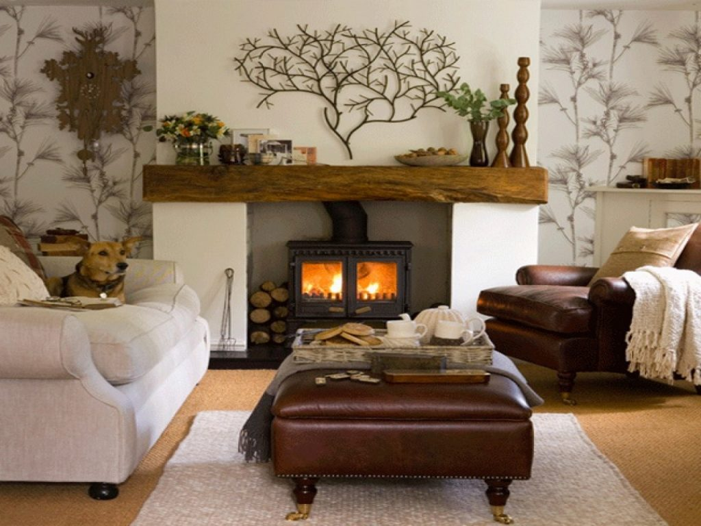 Country Cottage Fireplace Ideas New 1280960 Cozy Fireplace Living