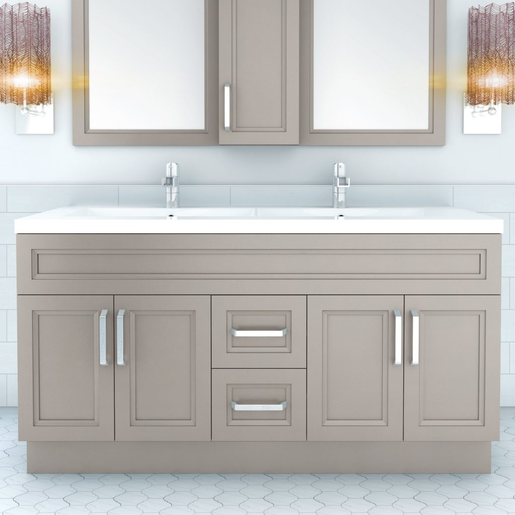 Cutler Kitchen Bath Urban 60 Double Bathroom Vanity Set Reviews
