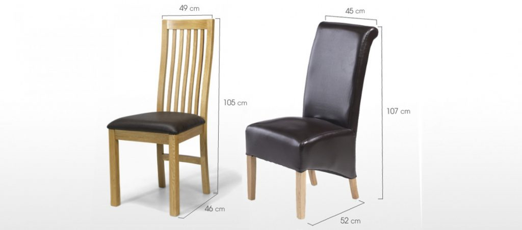 Dining Chair Dimensions Standard Review Of 10 Ideas In 2017