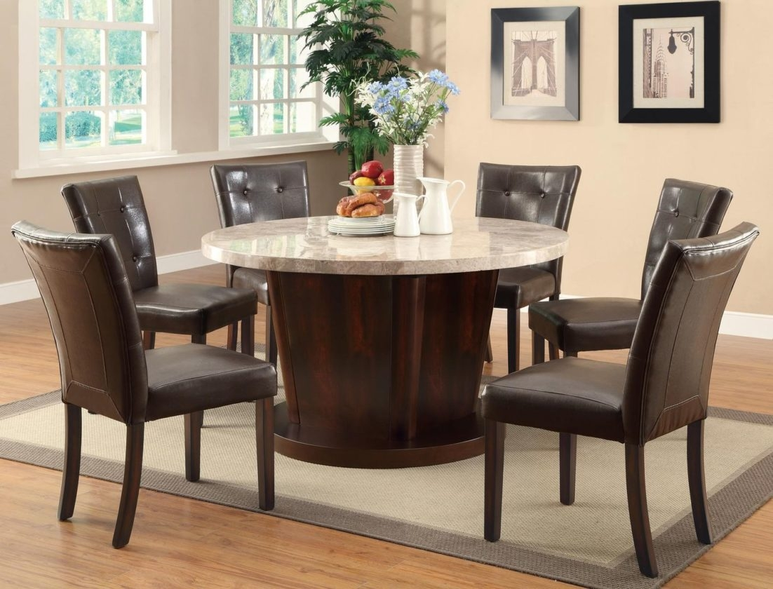 Dining Room Affordable Solid Wood Round Table Sets Marvelous ...