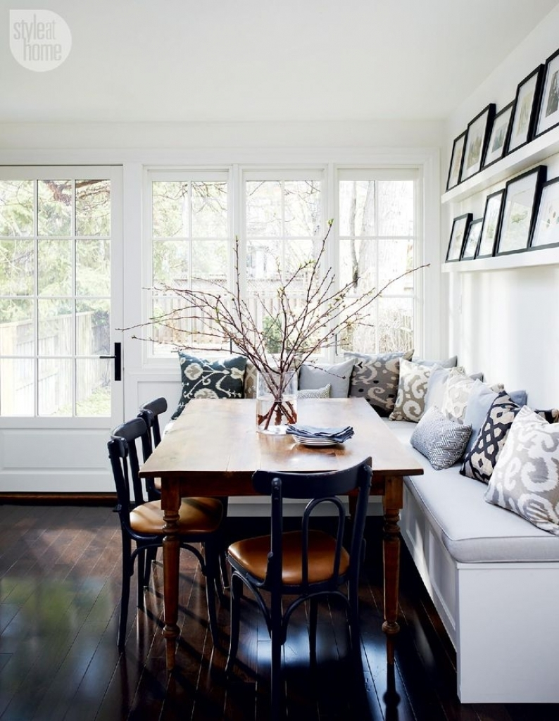 Dining Room Bench Seating Ideas Brilliant Dining Room Table With