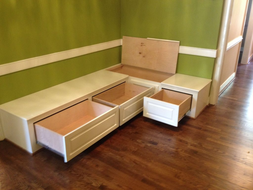Dining Room Bench Seating With Hidden Storage Wood Crafts In 2018