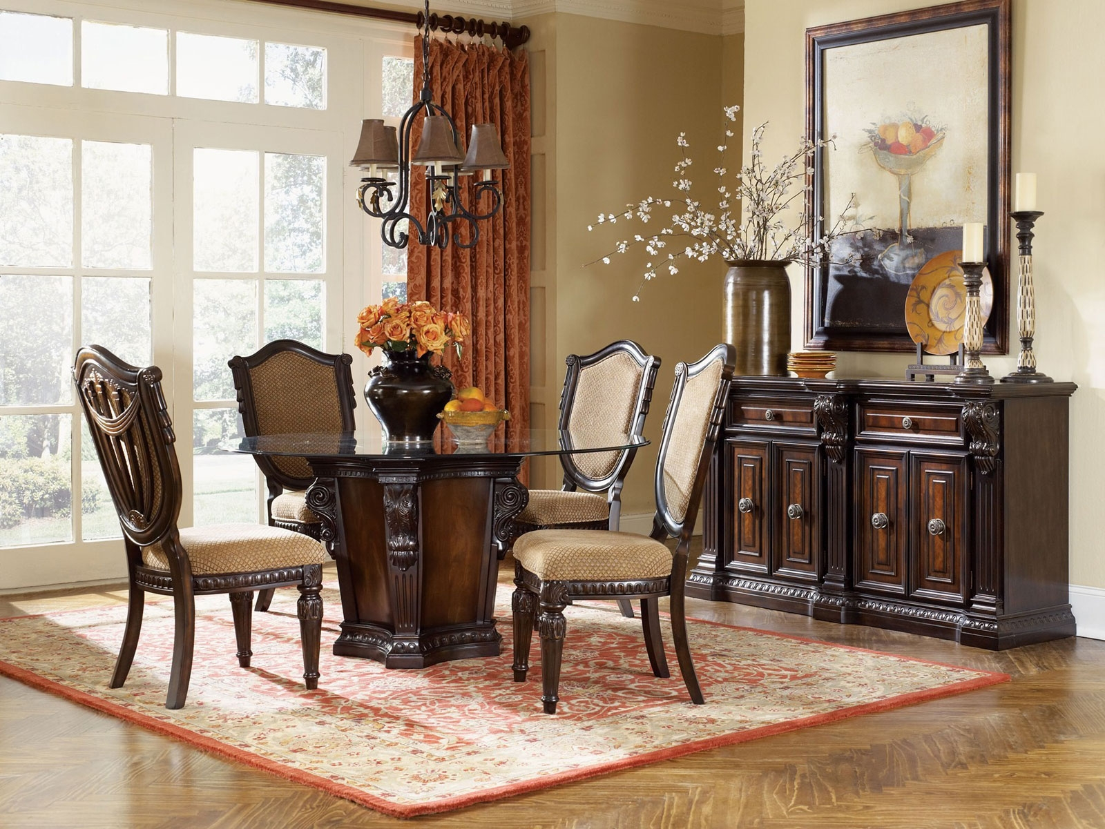 Dining Room Buffet Set Sets With Hutch Inspirierend Decorating Layjao