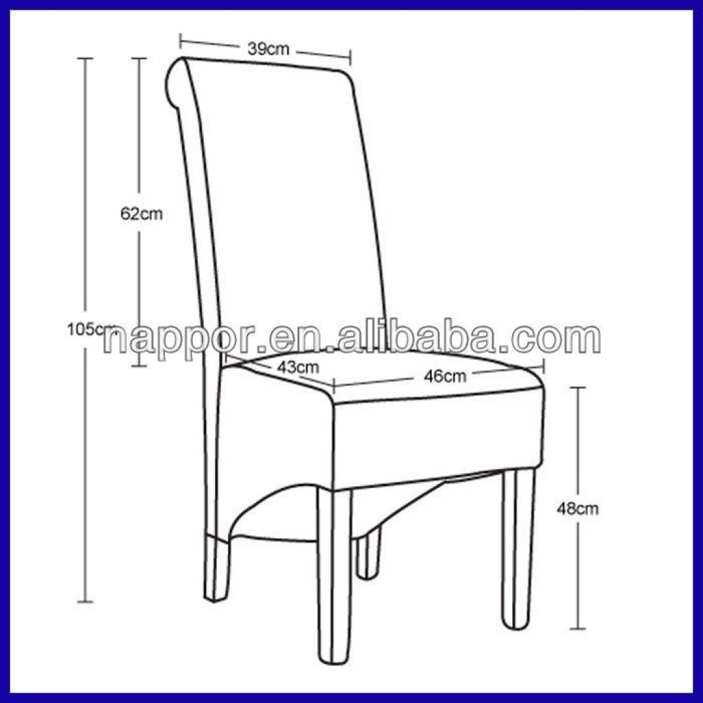 Dining Room Chair Seat Height Dining Chair Dimensions Standard