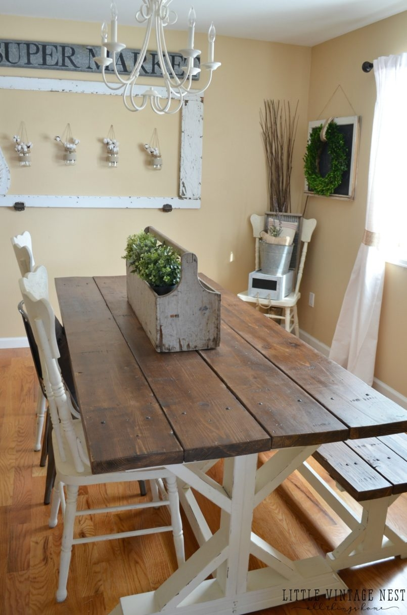 Dining Room Rustic Farmhouse Dining Room Farm Wood Dining Table
