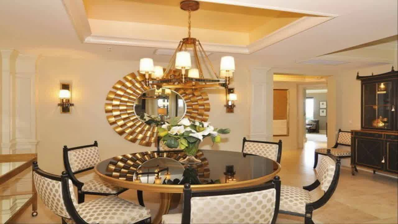Dining Room Wall Decor Ideas With Mirror Youtube Layjao