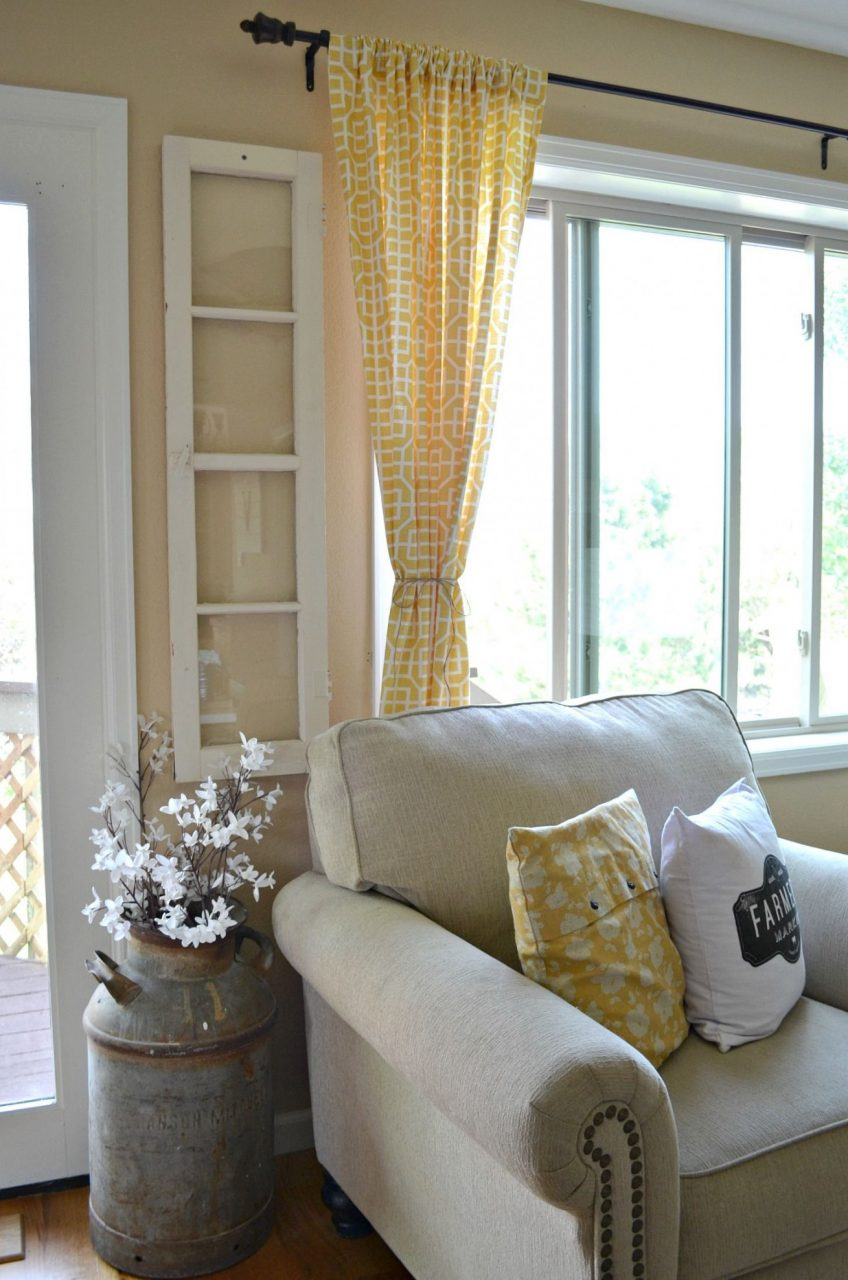 Dining Room Window Curtains 13 4 Ways To Decorate With Old Windows
