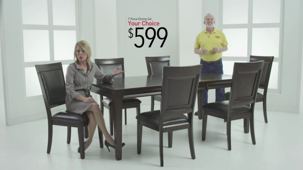 Dining Rooms Sets For 599 Bobs Discount Furniture Youtube