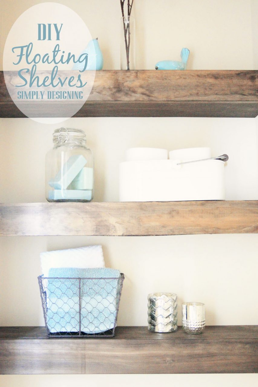 Diy Floating Shelves How To Measure Cut And Install