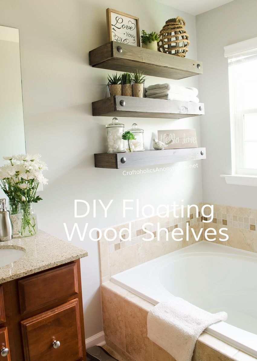 Diy Floating Shelves In 2018 Best Of Pinterest Pinterest Wood
