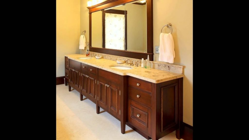 Double Sink Bathroom Vanity Bathroom Double Sink Vanity Youtube