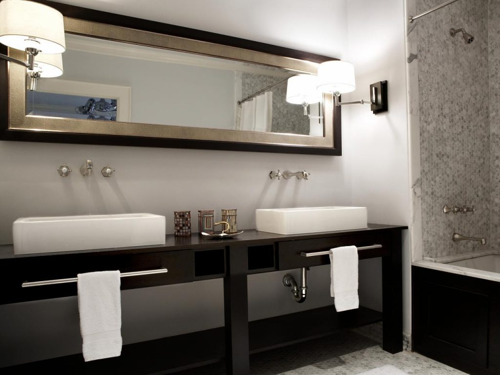Double Vanities For Bathrooms Hgtv