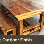 Outdoor Furniture Finish