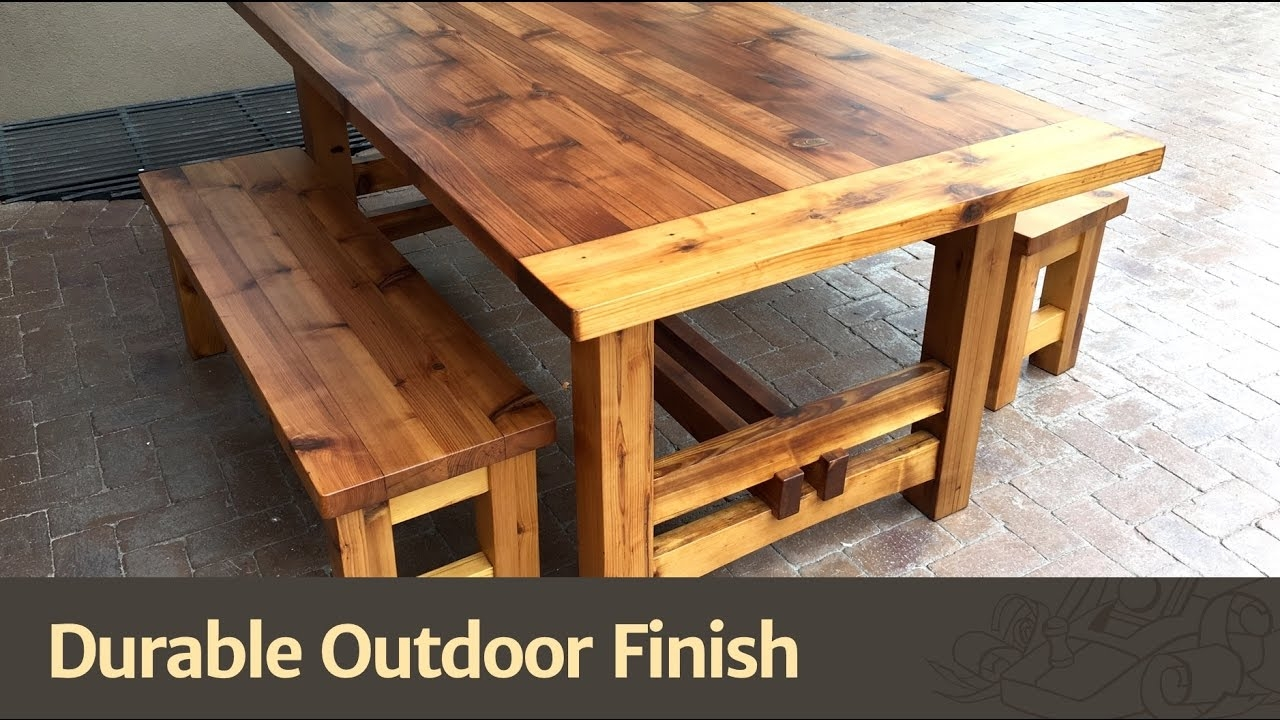 Durable Outdoor Finish Youtube