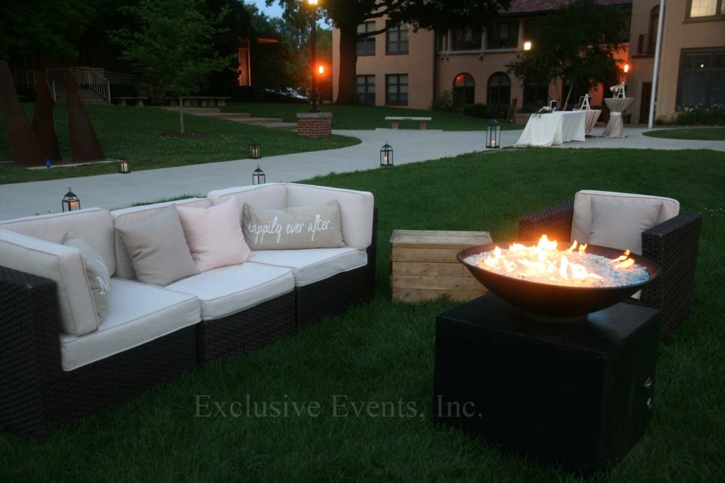 Exclusive Events Lounge Furniture Rental