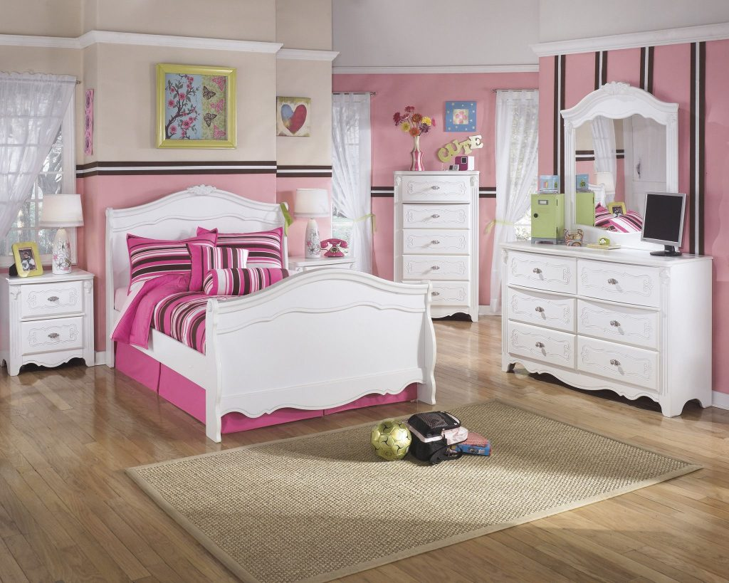 Exquisite 5pc Kids Full Sleigh Bedroom Set Outfit My Home Kids