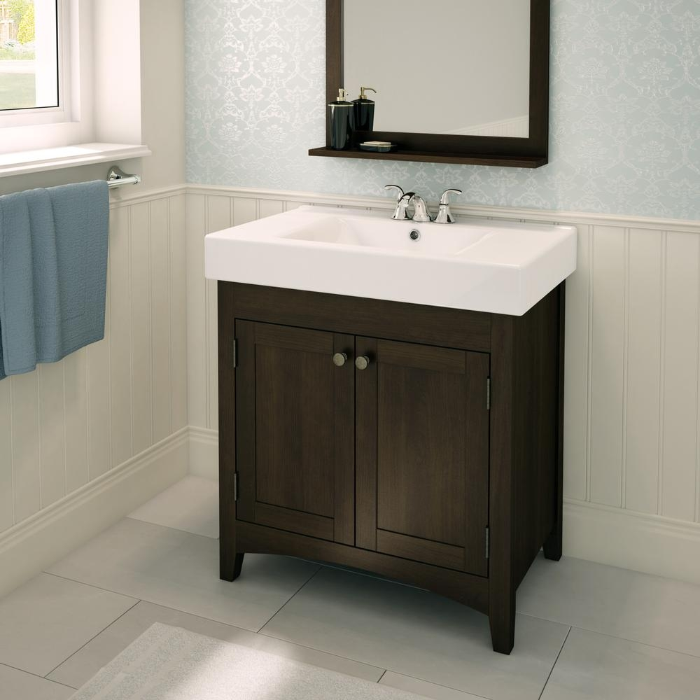 Ez Mount Bathroom Vanity Brown Plumbing Artika