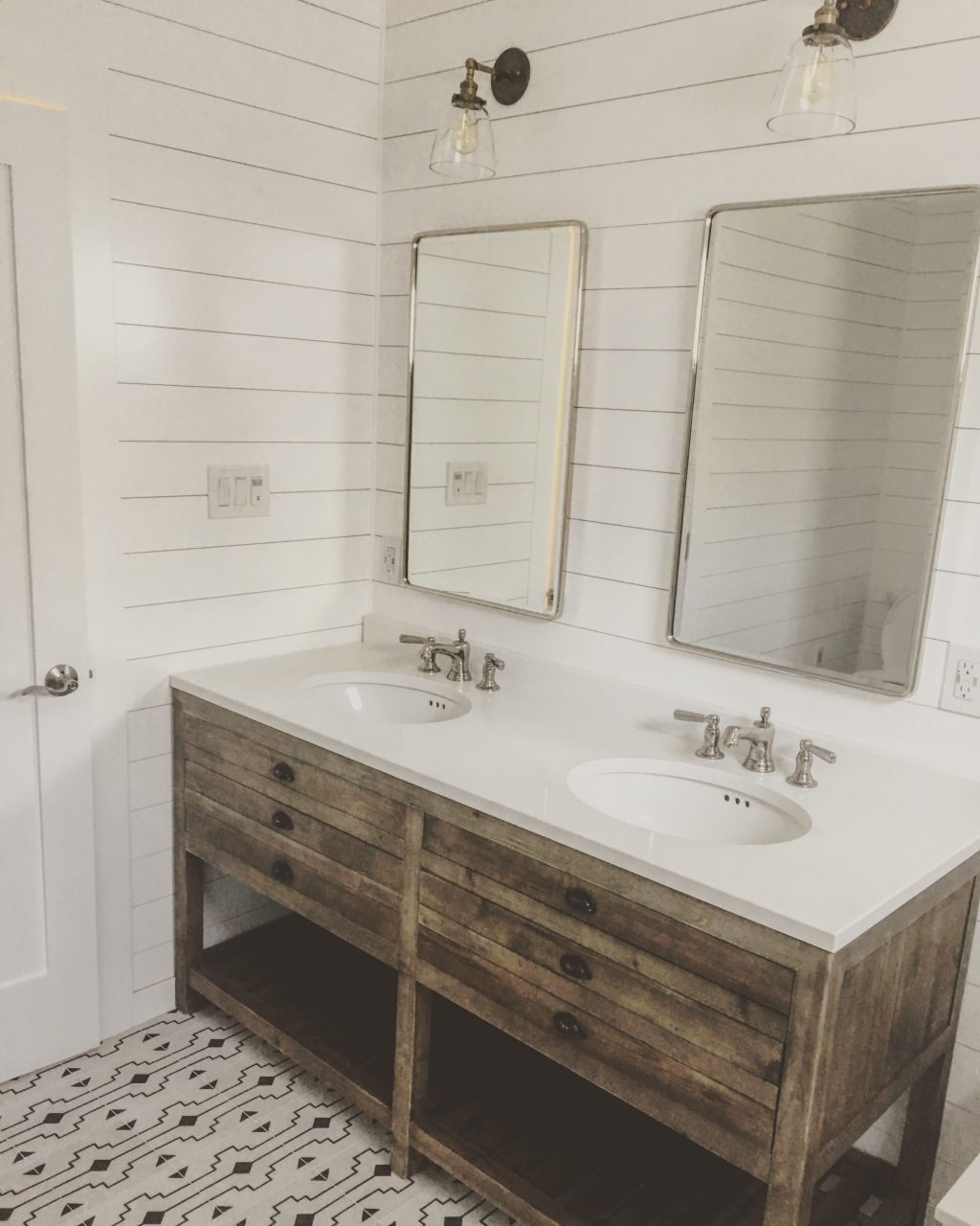 Family Bathroom Restoration Hardware Vanity Restoration Hardware