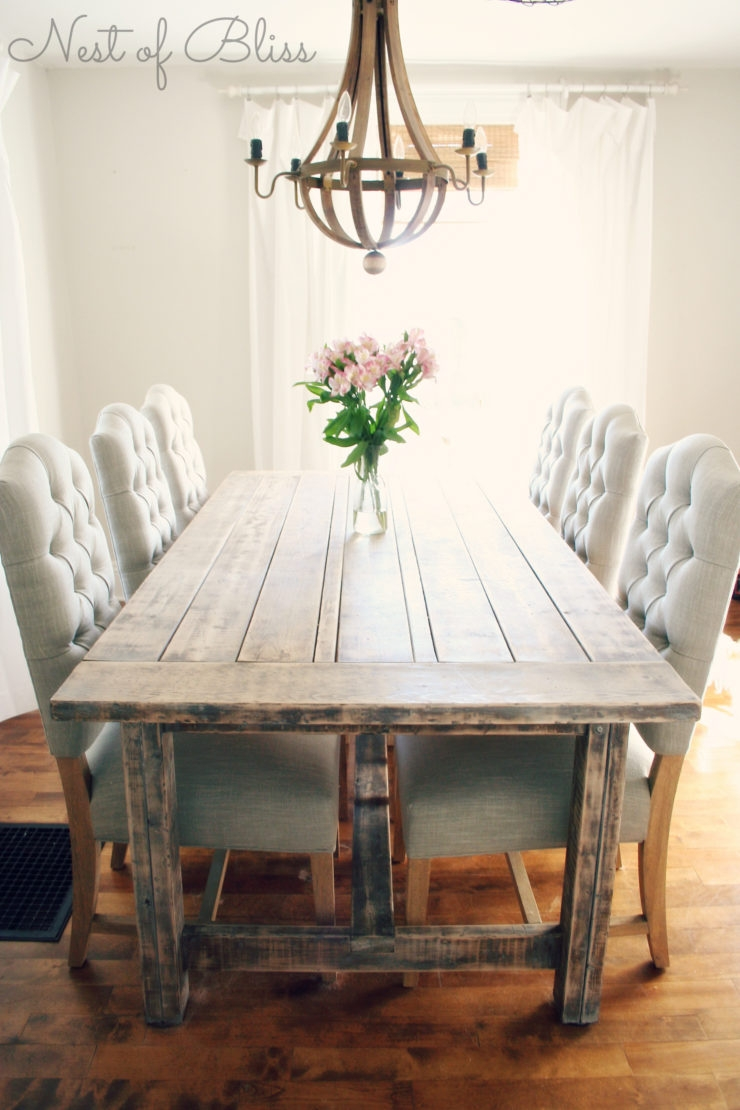 Farmhouse Table And Chairs Reclaimed Wood Outstanding Farm Table