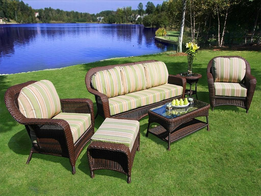 Furniture Luxury Ikea Outdoor Furniture Ideas With Brown Webbing