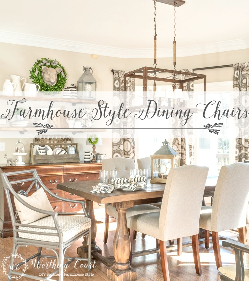 Get Ready For Holiday Entertaining 12 Affordable Farmhouse Dining