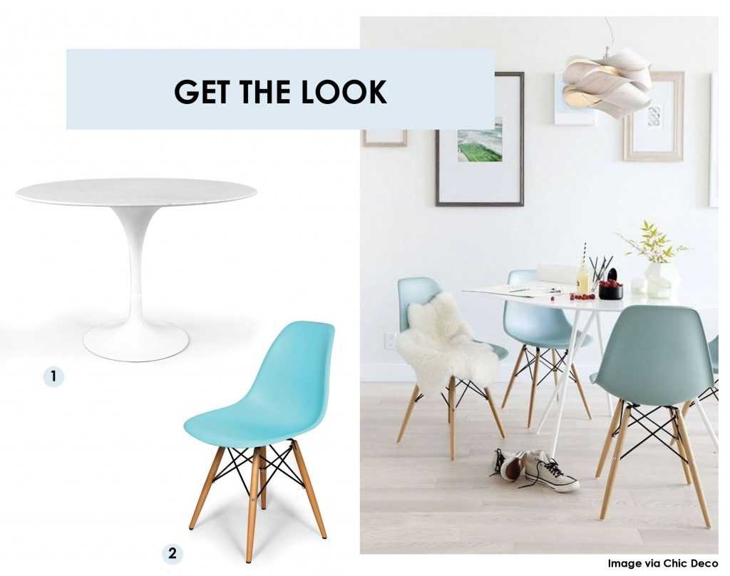 Get The Look Get The Look The Eiffel Dining Chair Luxedecor