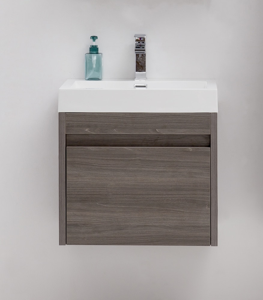 Golden Elite Cabinets Bathroom Vanities Labrador Maple Grey