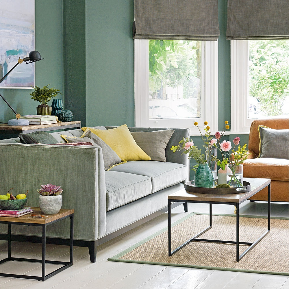 Green Living Room Ideas For Soothing Sophisticated Spaces