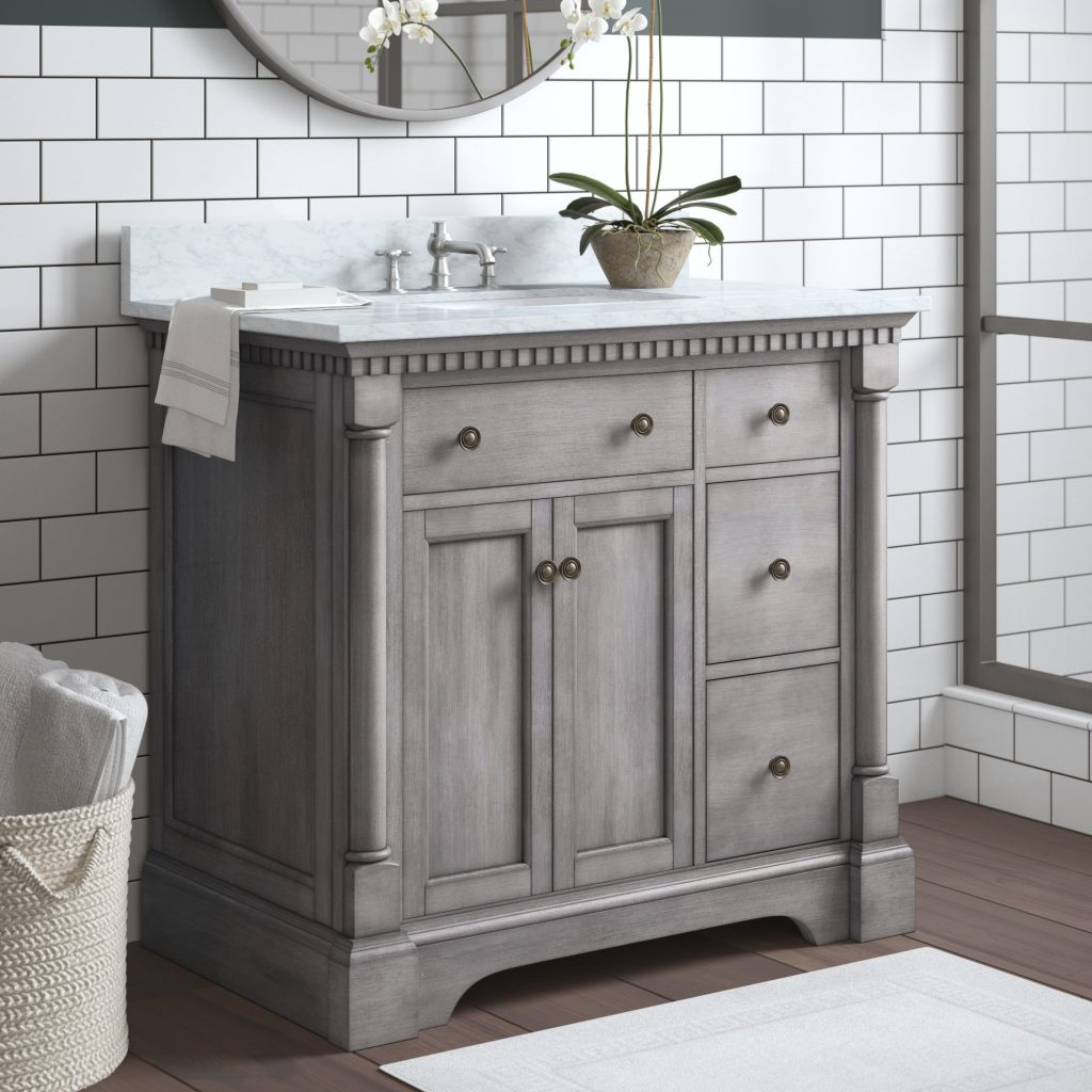 Greyleigh Seadrift 37 Single Bathroom Vanity Set Reviews Wayfair