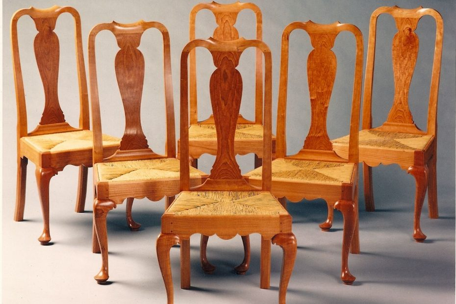 Hand Crafted Queen Anne Dining Room Chairs Paula Garbarino Custom