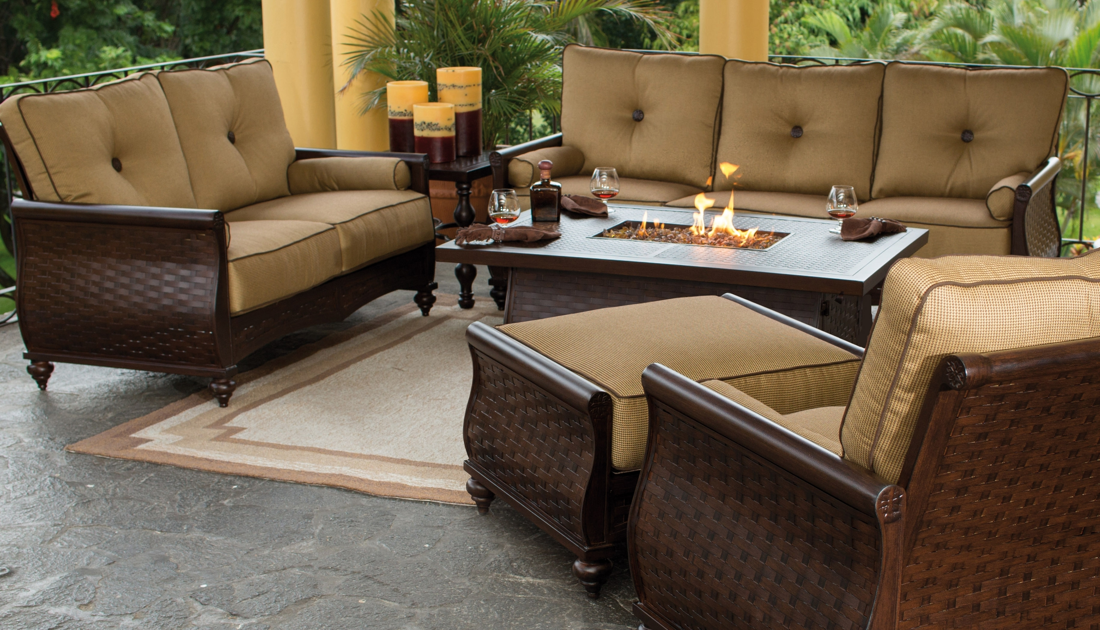 High End Patio Furniture House Designs For High End Outdoor