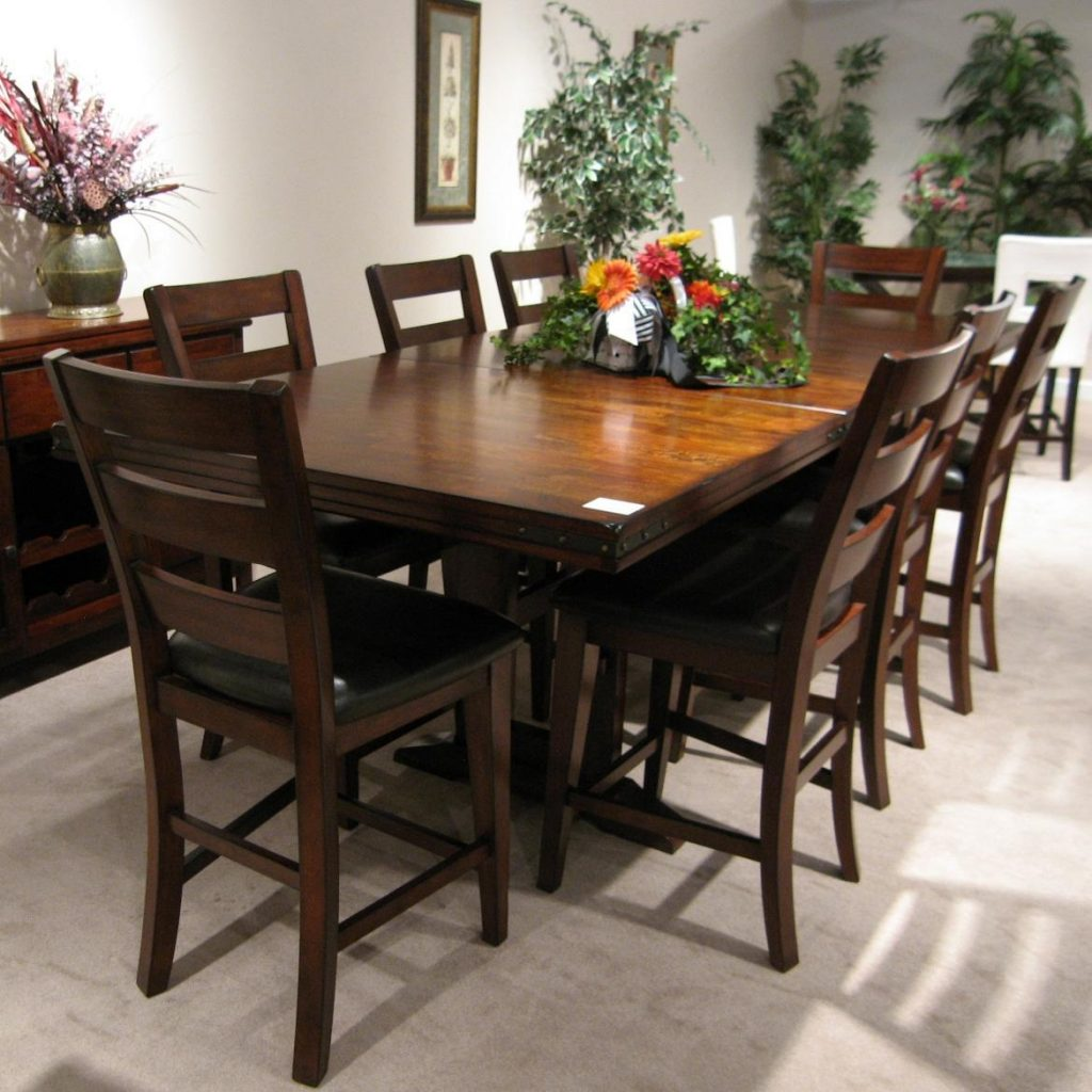 Holland House 1268 Casual 9 Piece Dining Table And Chair Set Fmg