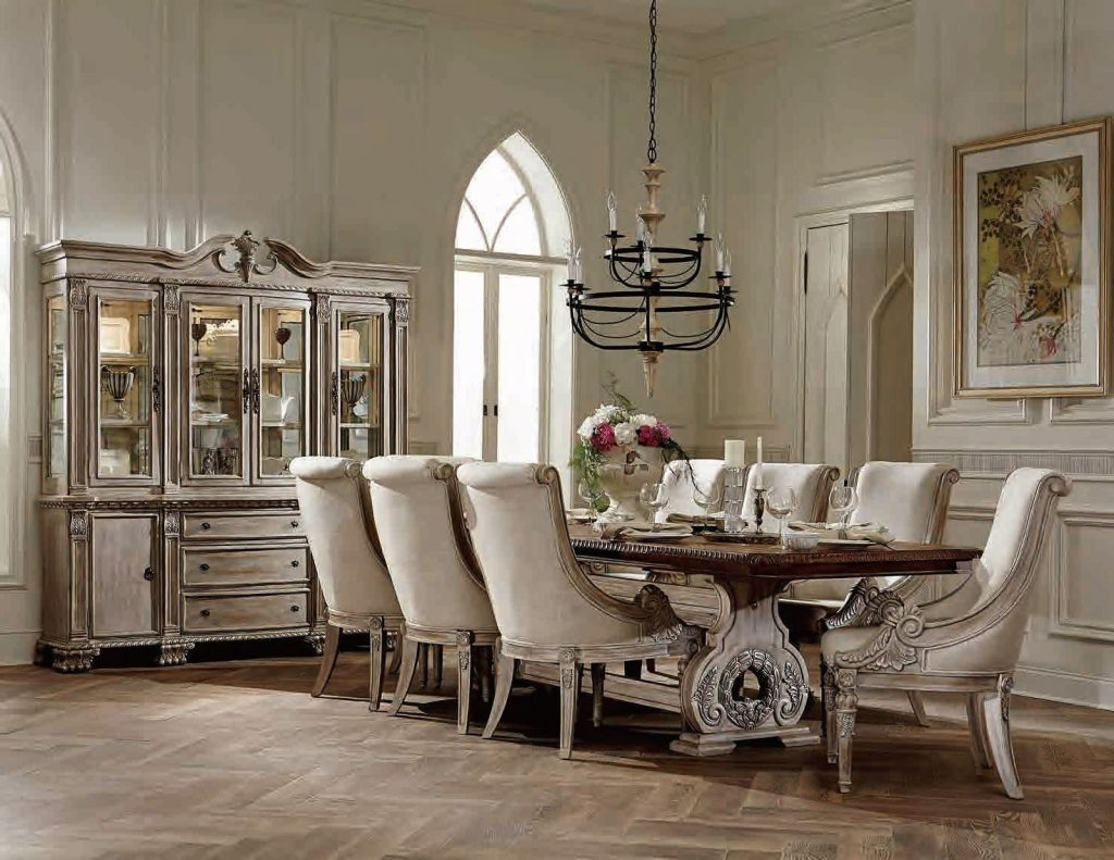 Home Elegance Orleans Ii 7pc Dining Room Set The Classy Home