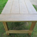 How To Apply A Wax Finish To An Outdoor Picnic Table How Tos Diy