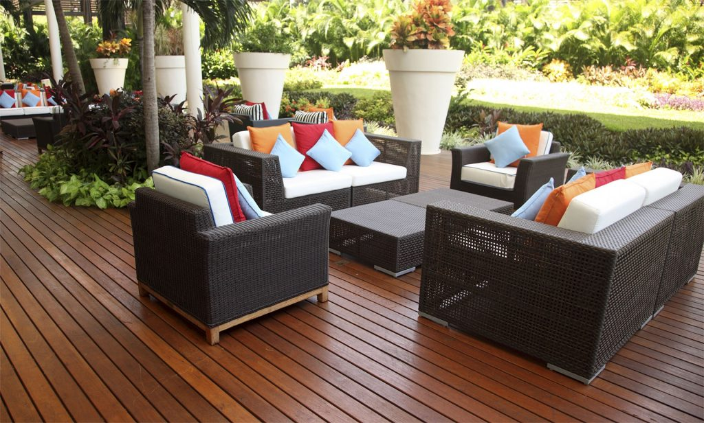 How To Clean Patio Furniture With Household Ingredients