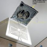How To Install A Panasonic Whisperceiling Bathroom Vent Fan
