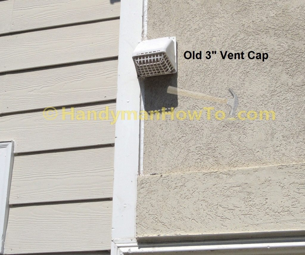 How To Replace A Bathroom Exhaust Fan And Ductwork Outdoor Vent Cap