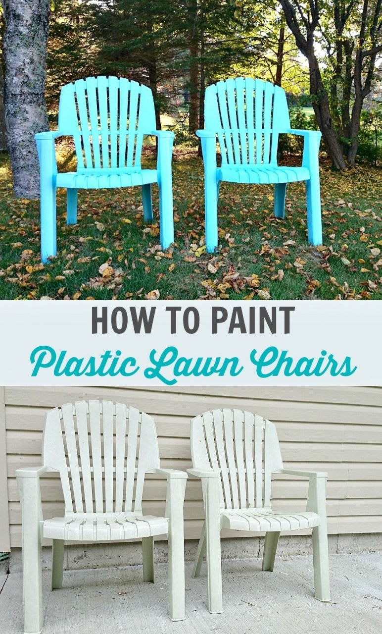 How To Spray Paint Plastic Lawn Chairs Furniture Inspiration