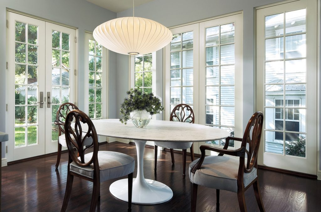 Inswing French Doors Around Dining Room Marvin Photo