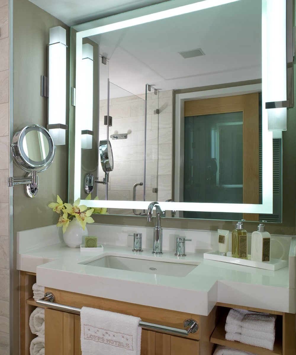 Integrity Led Lighted Bathroom Mirror Electric Mirror