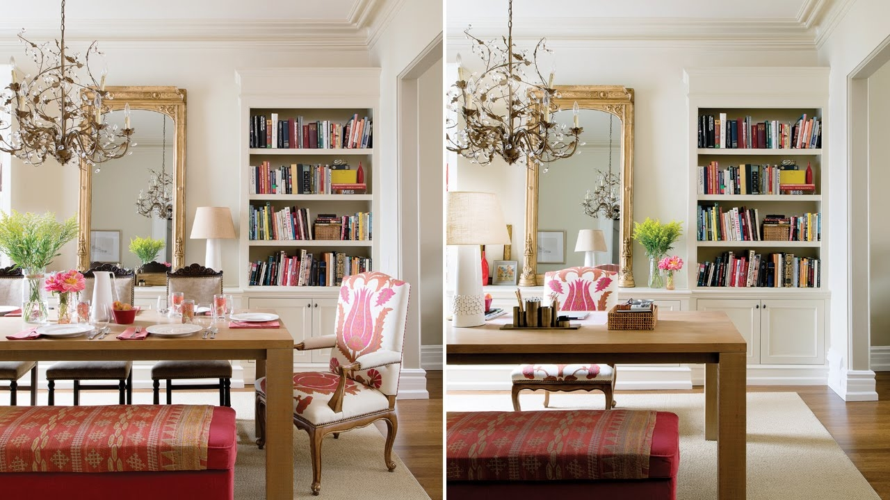 Interior Design A Double Duty Dining Room And Office Youtube