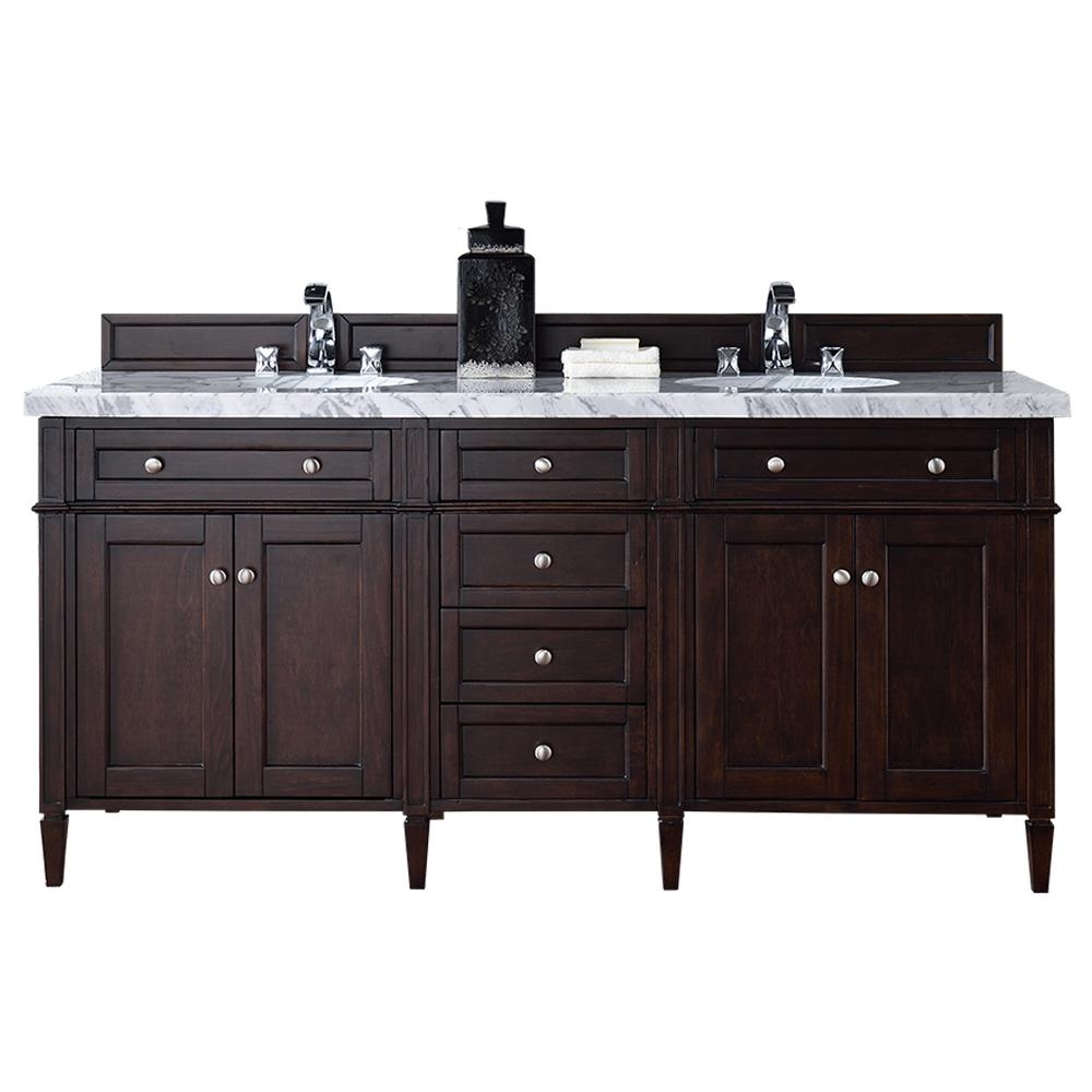 James Martin Signature Vanities Brittany 72 In W Double Vanity In