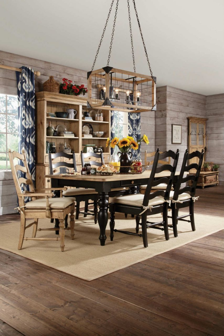 Kincaid Farmhouse Table In Dining Rooms Outlet